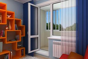 Дверь балконная 2