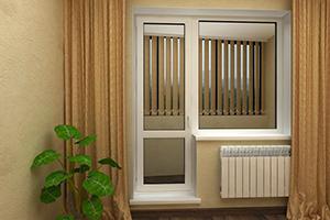 Дверь балконная 3