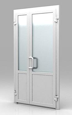 Металлопластиковые двери и алюминивые конструкции