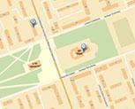 схема проезда в офис №1 и №3 фирмы Хэппи Лайф
